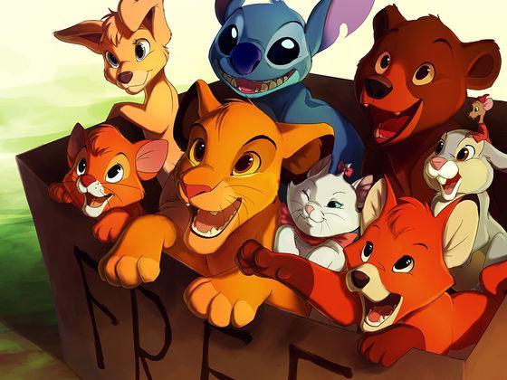 Les animaux de Disney se transforment en humains