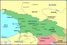 A la frontière de quels continents se situe la Géorgie ?