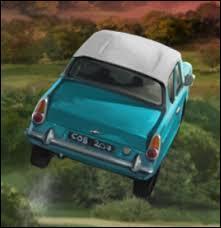 Les scènes de tournage avec la voiture volante ont duré trois mois.