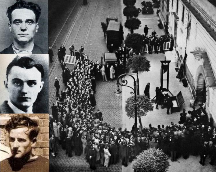 """Surnommé """" le tueur au regard de velours """" , il fut le dernier condamné à mort a être guillotiné en public en France le 17 juin 1839 à Versailles..."""