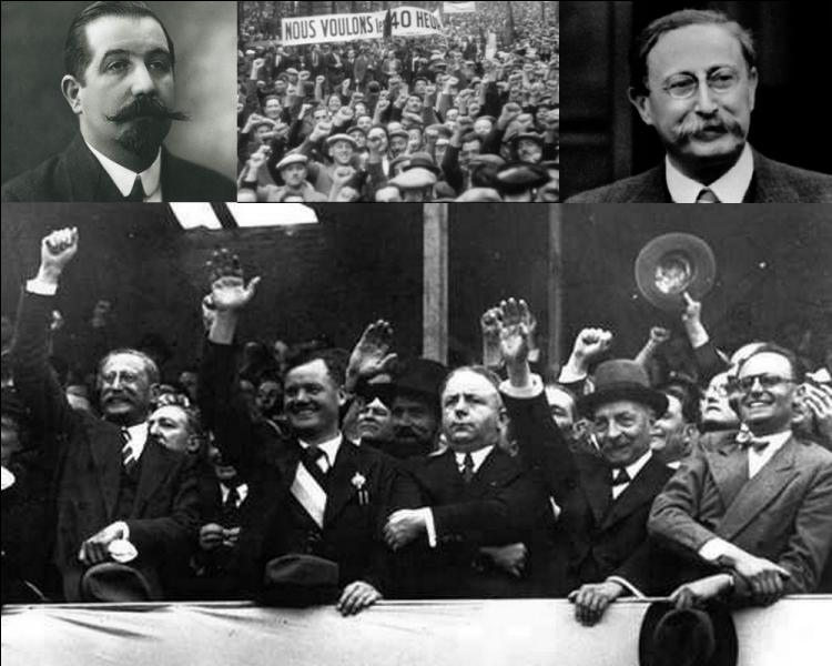 Dans la nuit du 7 au 8 juin 1936, Léon Jouhaux signe les célèbres accords de Matignon. Quelle entité représentait-il ?