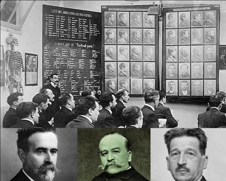 En 1882, on doit à ce fonctionnaire tatillon la fameuse photo judiciaire face et profil permettant de confondre l'ennemi N°1 de l'époque Ravachol...