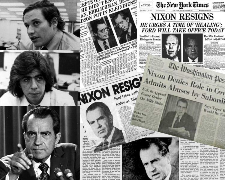 En juin 1972, deux reporters américains publient un article sur un cambriolage au parti démocrate. C'est le début du scandale du Watergate. Pour quel quotidien travaillaient ces journalistes ?