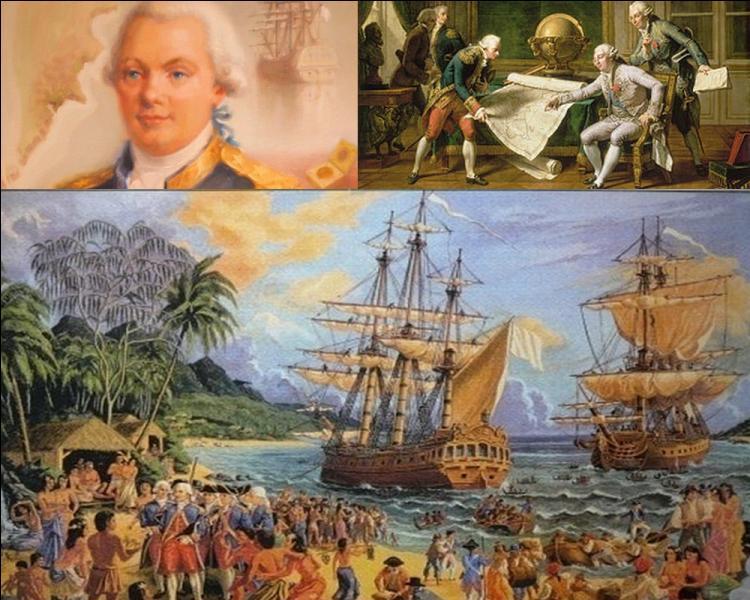 Avec quels bateaux, le navigateur et explorateur français Jean- François de La Pérouse fit-il sa dernière expédition en 1785 ?