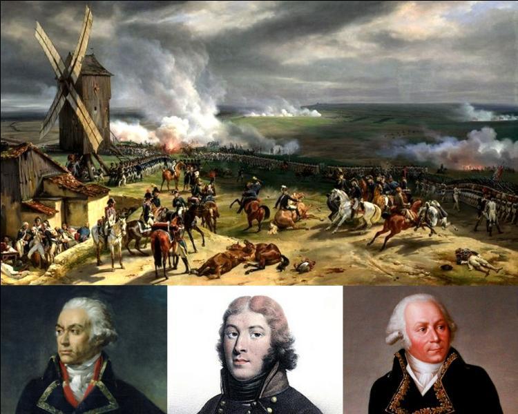 Qui commandait l'armée révolutionnaire lors de la bataille de Valmy le 20 septembre 1792, bataille qui a fondé la République ?
