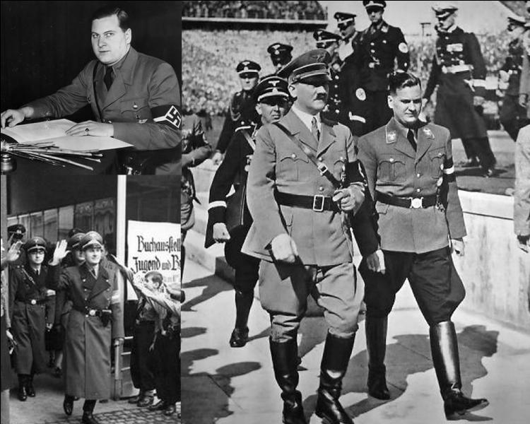 """On prête à Baldur Von Schirach cette célèbre phrase : """" Quand j'entends parler de culture, je sors mon révolver """". Quelle était sa fonction dans le régime nazi ?"""