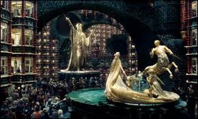 Sur quoi l'Armée de Dumbledore voyage-t-elle pour aller au ministère de la Magie ?