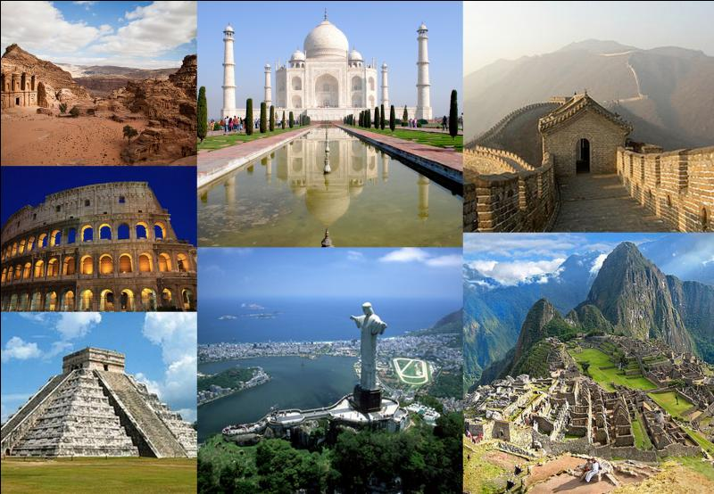 Parmi ces sites, lequel ne fait pas partie des sept nouvelles merveilles du monde ?