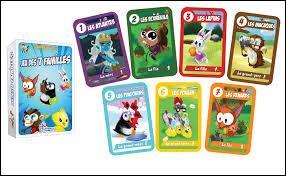 Combien de cartes comporte un jeu de 7 familles ?