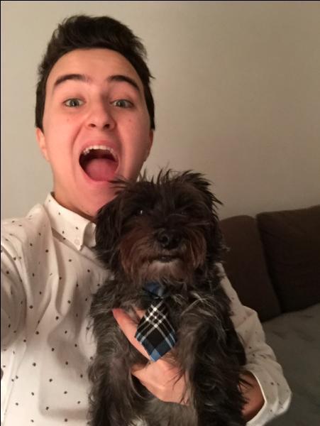 Quel est le nom de son chien ?