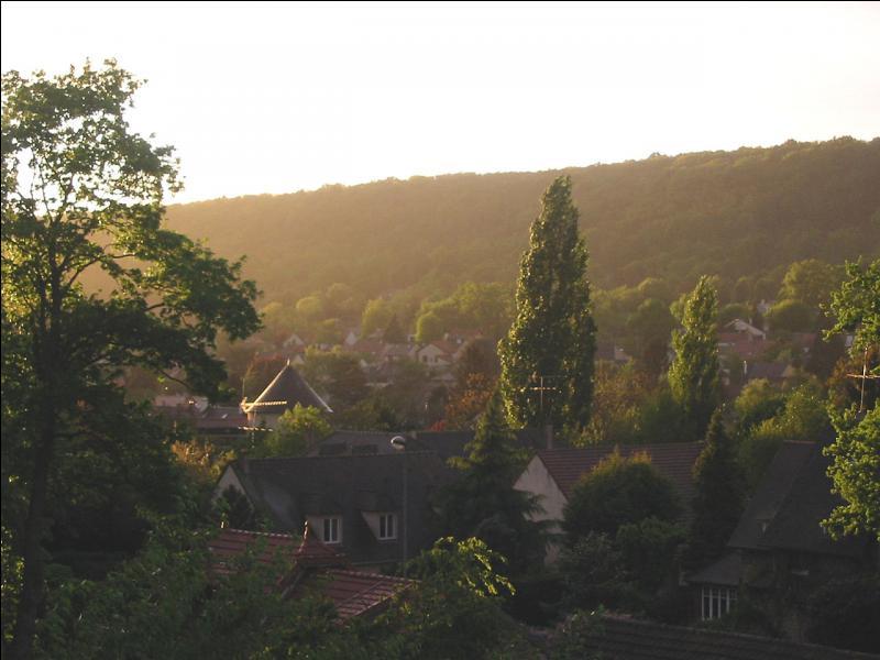 La région Ile-de-France - département officiellement créé le 1er janvier 1968 par démembrement de l'ancienne Seine-et-Oise - l'autoroute A6 - la ville d'Épinay-sous-Sénart