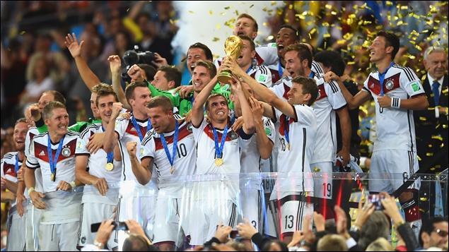 Où s'est déroulée la Coupe du monde en 2014 ?
