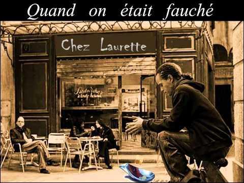 """Qui interprétait """"Chez Laurette"""" dans les année 60 ?"""