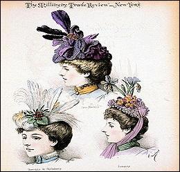 Quel nom porte une créatrice de chapeaux ?