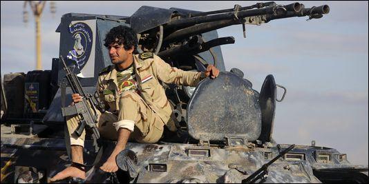 Pour quelle raison cet homme n'avait-il pu rentrer dans l'armée irakienne par le passé ?