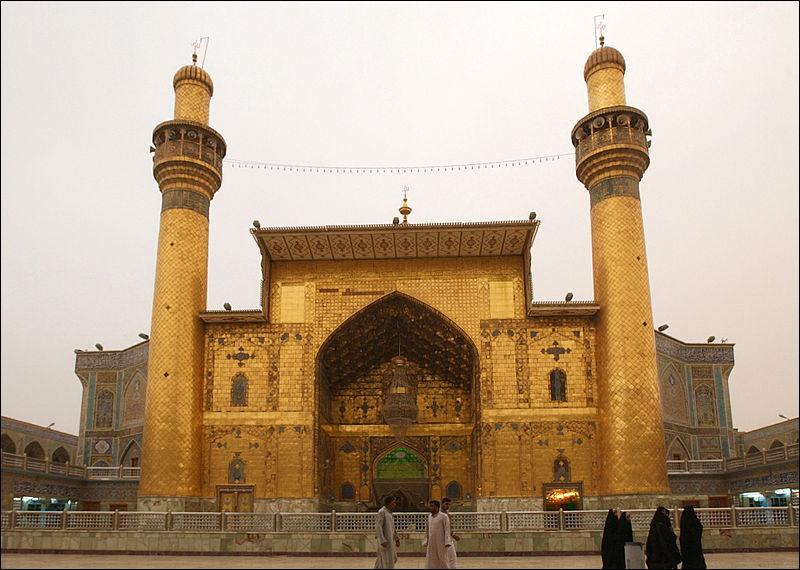 Combien de personnes seraient enterrées au cimetière de Najaf, vieux de 1400 ans ?