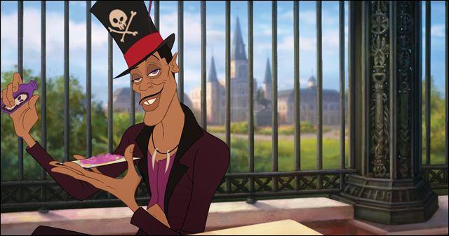 Dans quel film de Disney retrouve-t-on le Dr Facilier, un sorcier vaudou dont le look est inspiré du Baron Samedi, l'esprit vaudou de la mort ?