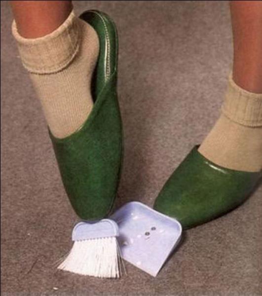 Quel est l'avantage des chaussons-balayettes ?