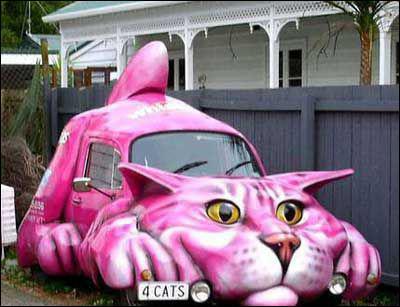 Cette voiture originale représente un animal, lequel ?