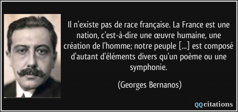 Selon Ernest Renan, la France tend à être...