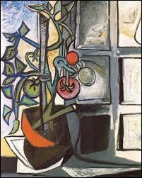 Quel peintre célèbre a fait une série de neuf tableaux représentant un plant de tomate ?