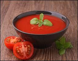 De quel potage la tomate est-elle l'ingrédient de base ?