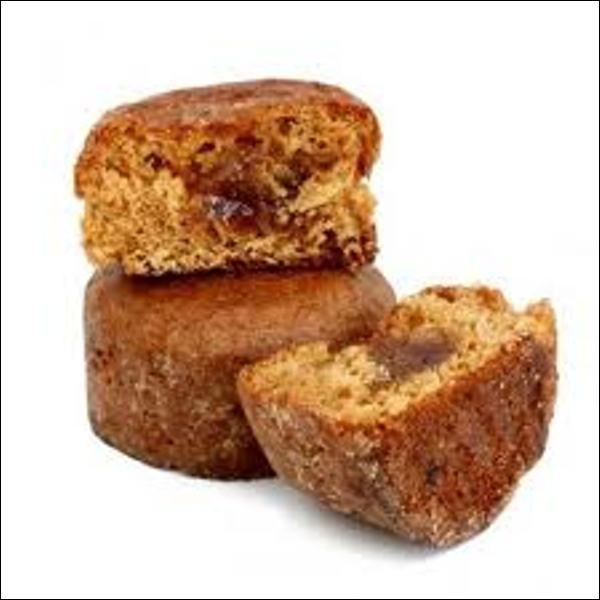 Quel nom porte ce petit gâteau à base de pain d'épices, de marmelade d'orange et de miel ?