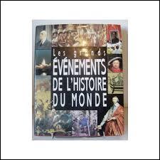 Voici des évènements : l'invention de l'imprimerie (I) - les châteaux-forts (C) - l'indépendance de la Belgique (B) - l'arrivée des Romains chez nous (R).Placez-les dans l'ordre chronologique (du plus ancien au plus récent).