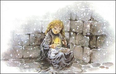 """Andersen a écrit celui de """"La Petite Fille aux allumettes""""."""