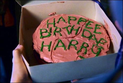 Le onzième anniversaire d'Harry est un...