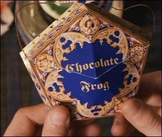 Quelle carte de chocogrenouille Ron a-t-il déjà ?