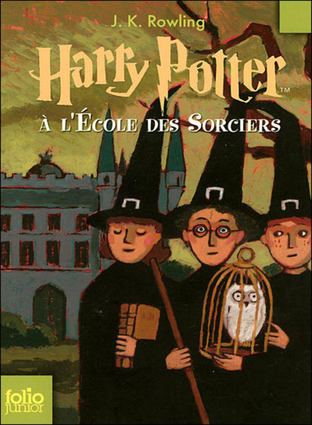 Les détails des livres : Harry Potter à l'école des sorciers