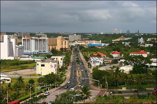 Quelle est la capitale de l'île de Guam ?