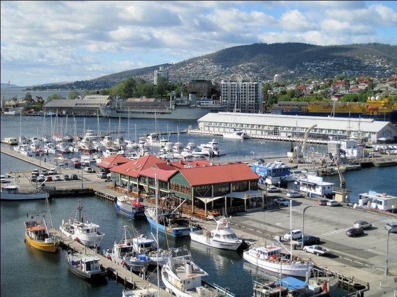 Quelle est la capitale de la Tasmanie ?