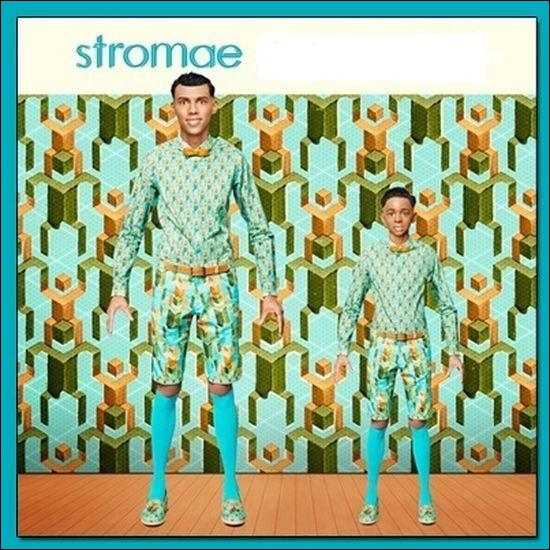 Sa maman dit qu'il n'est jamais très loin, qu'il part souvent travailler, mais Stromae répète...