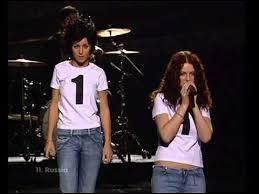 En quelle année le groupe t.A.T.u a-t-il représenté la Russie à l'Eurovision ?