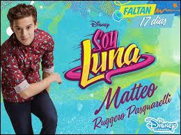 Comment s'appelle la chanson que Matteo a écrite pour Luna ?
