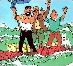 """Où se trouvent les esclaves et Tintin dans """"Coke en stock"""" ?"""