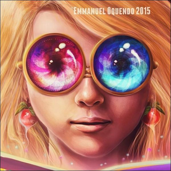 """""""Luna Lovegood : Free Spectrespecs Inside ! """" est une œuvre réalisée par Emmanuel Oquendo en 2015 que Fan-de-Luna utilise comme image de profil. Luna semble avoir des yeux de différentes couleurs, elle a donc les yeux..."""