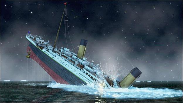Le Titanic sert de photo de profil à Barry1995. Quand a-t-il coulé ?