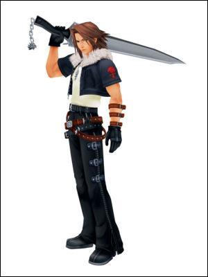 Comment se nomme l'épée de Léon?