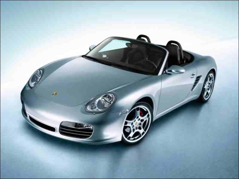 C'est une Porsche...