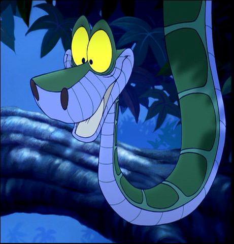 Dans quel dessin animé retrouve-t-on le serpent prénommé Kaa ?