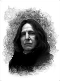Un peu plus complexe...Dans la version originale, quel est le nom de famille du sardonique professeur de potions Severus Rogue ?