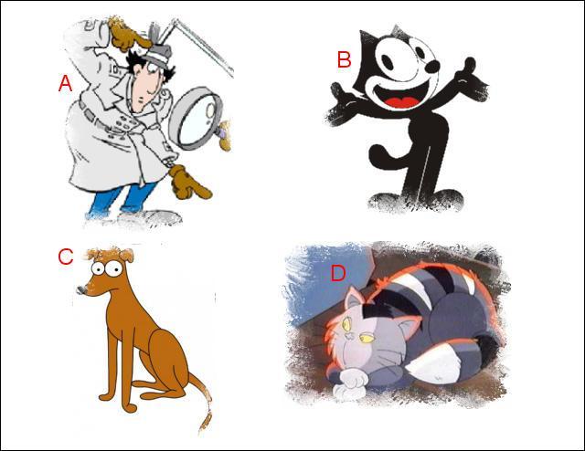 L'illustration nommée « A » est en lien étroit avec l'illustration représentée en : (Indice : Docteur Gang)