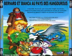 Bernard et Bianca sont deux souris.