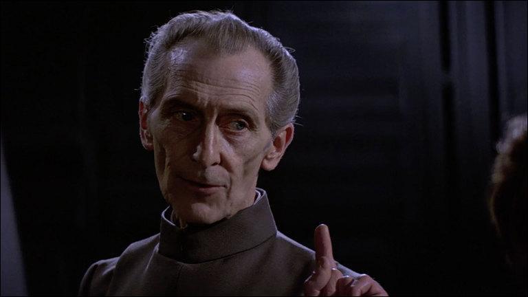 Quel acteur incarne le Grand Moff Wilhuff Tarkin ?