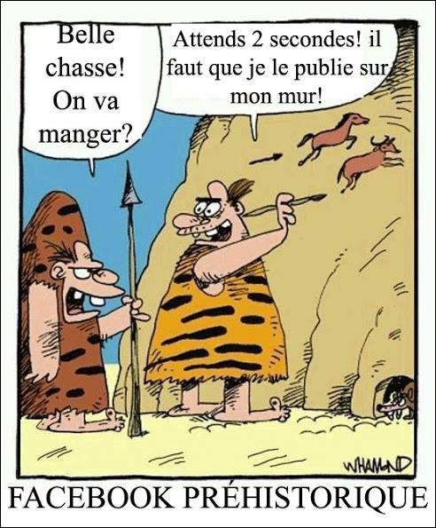 Comme vous pouvez le voir sur l'image, monsieur préhistoire bénéficiait lui aussi d'une application !