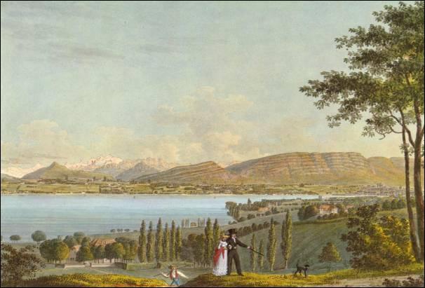 Quel célèbre poète français a évoqué le « Salève aux flancs azurés » après une randonnée sur la montagne ?