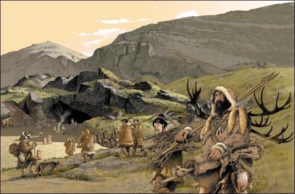 Quel animal les Magdaléniens ont-ils gravé sur un bois de renne à Veyrier ?